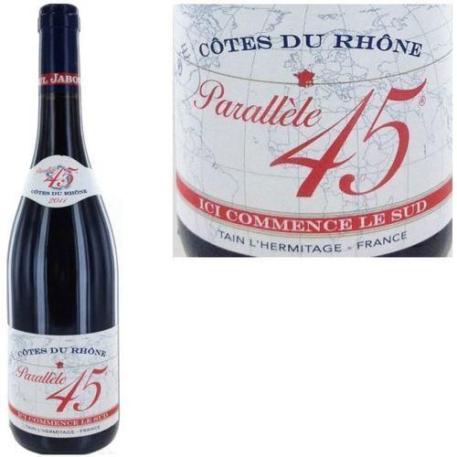 """Vin Côtes du Rhône """"Parallèle 45"""" BIO, Jaboulet"""